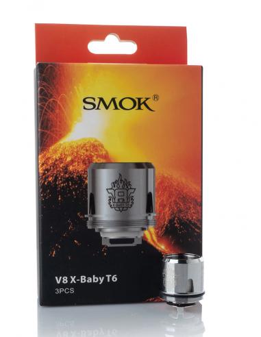 SMOK V8 X-Baby T6 Coils 0.2 ohm [3...