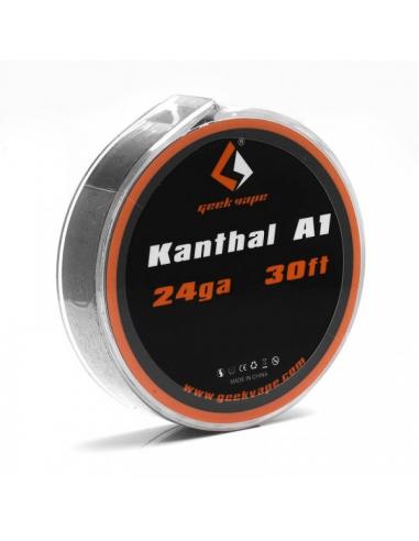 Geek Vape Bobina Kanthal A1 24ga-30ft...