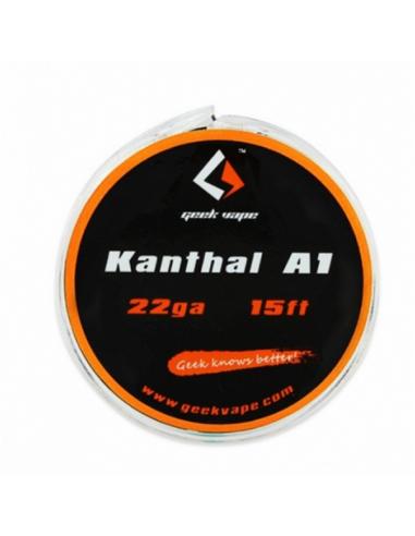 Geek Vape Bobina Kanthal A1 22ga-15ft...