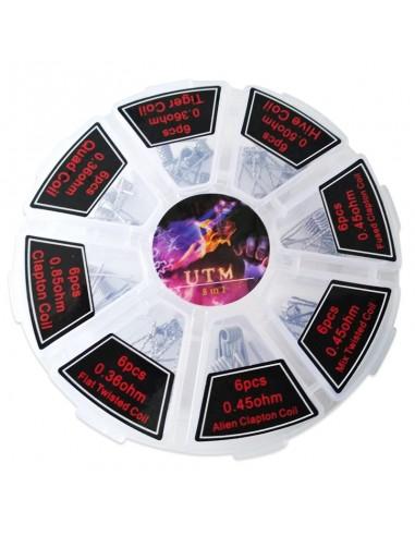 UTM Coils Set Box 8 in 1- Clapton,...