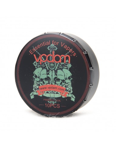 Vpdam Flat Twisted Wire Coils 0.36...