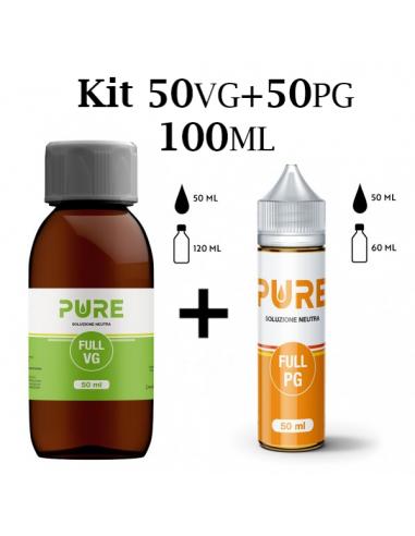 PURE - Kit per Base 50/50 100ml
