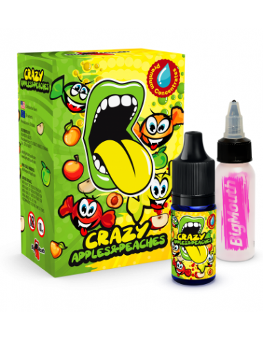 Big Mouth Aroma Crazy Apples and...